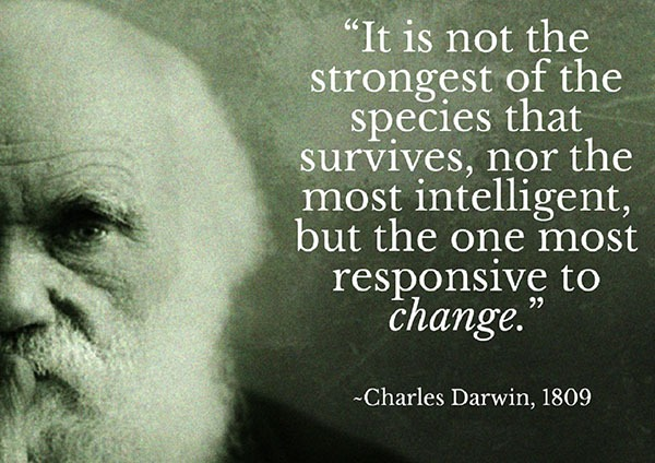 Survival of the Fittest Charles Darwin